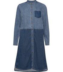cupaola dress knälång klänning blå culture