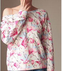 magnolie bluza raglan