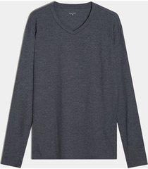 camiseta manga larga gris oscuro seven seven