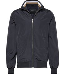 soft nylon jacket tunn jacka blå lindbergh