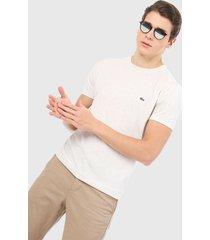 camiseta beige lacoste