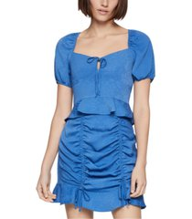 bcbgeneration cropped peasant top