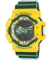 reloj g shock ga_400cs_9a verde resina