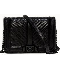 rebecca minkoff borsa a tacolla di colore nero