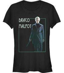 fifth sun harry potter draco malfoy portrait women's short sleeve t-shirt