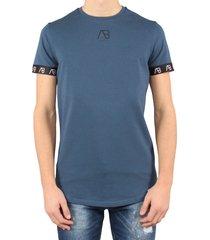 ab lifestyle essentials t-shirt blauw