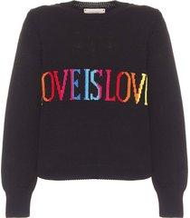 alberta ferretti sweater tricot