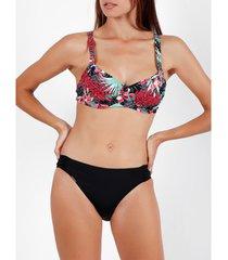 bikini admas 2-delige bikiniset sauvage noir