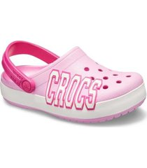 sandália infantil crocs crocband logo clog k