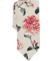 bar iii men's fischer floral slim tie, created for macy's