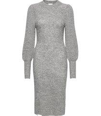 mika knit dress dresses everyday dresses grå second female