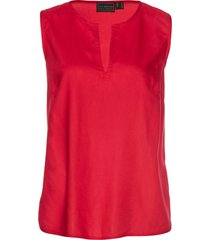 top in viscosa (rosso) - bpc selection