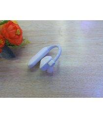 audífonos bluetooth deportivos, x6 moda elegante batería doble deportes oído gancho auricular inalámbrico audifonos bluetooth manos libres  (blanco)
