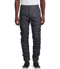 g-star raw men's staq 3d straight-fit tapered jeans - raw denim - size 32 32