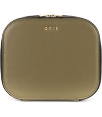 0711 large ela cosmetic bag - green
