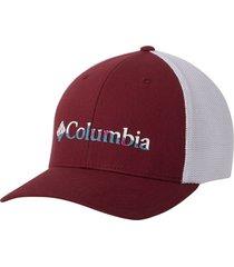gorra rojo wine berry columbia mesh ballcap