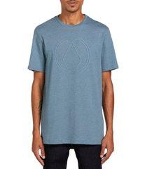 volcom men's off pin short sleeve t-shirt