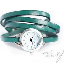 summer simple -zegarek - turkusowa zieleń