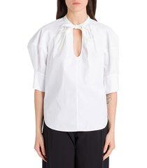 chloé popeline blouse