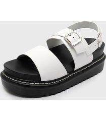 sandalia blanco new walk