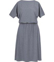 sukienka midi z kieszeniami