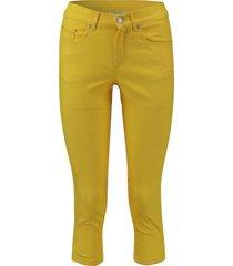 broek capri geel