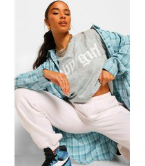 oversized flannel shirt, blue