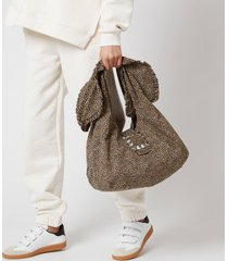 shrimps women's ellery shoulder bag - leopard