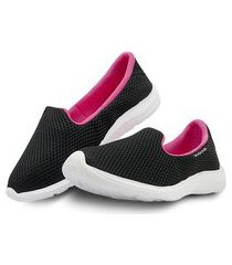 tênis sapatilha slip feminina sapatênis casual confortável