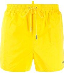 dsquared2 swim shorts - yellow