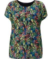 shirt verlaagde schoudernaden van emilia lay multicolour