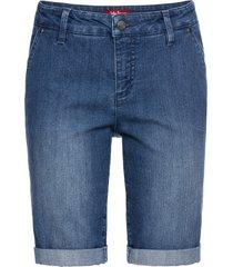 bermuda di jeans elasticizzati comfort (blu) - john baner jeanswear