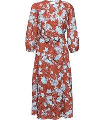 2nd harlow flowy jurk knielengte rood 2ndday