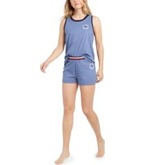 tommy hilfiger tank top & shorts pajama set