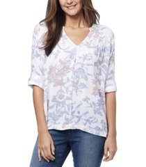nine west women's augusta top