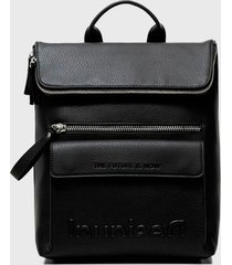 mochila negro desigual