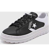 zapatilla negra converse pro leather x2