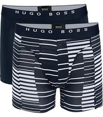 2-pack printed stretch-cotton boxer briefs