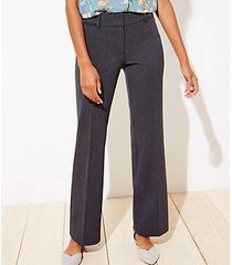 loft petite textured trousers in curvy fit