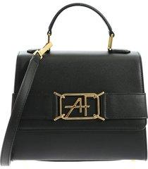 alberta ferretti - handbag with logo