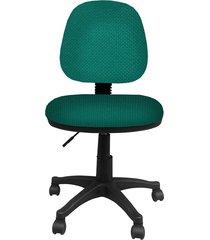 silla  addequar  platina media   verde esmeralda -2052