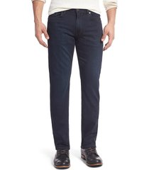 men's paige transcend - normandie straight leg jeans, size 28 - blue