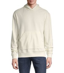 alternative men's relaxed pullover hoodie - porcelain - size m