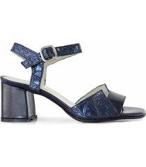 sandalia azul briganti mujer bolinao