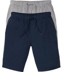 bermuda in jersey leggero (pacco da 2) (blu) - bpc bonprix collection
