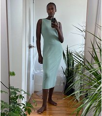 lou & grey ribbed maxi dress