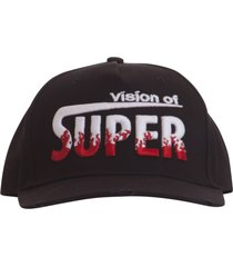 vision of super flames baseball cap