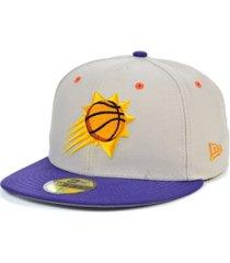 new era phoenix suns stone 2 tone 59fifty cap