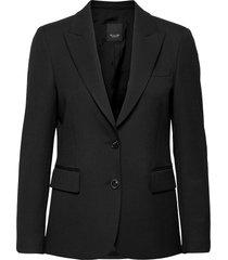 3596 - ginette pointy blazers business blazers svart sand