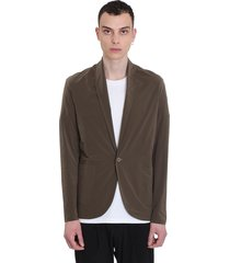 attachment casual jacket in khaki polyester